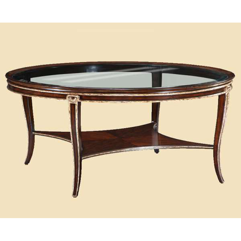 Round cocktail table 102 sale at hickory park furniture for Cocktail 102