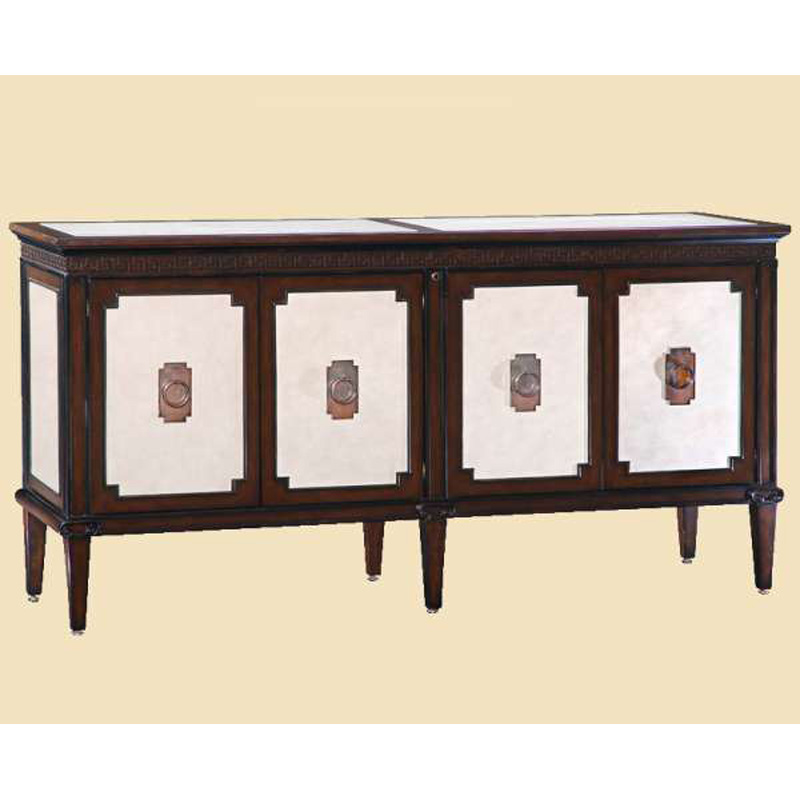 Marge Carson Ion10 1 Ionia Credenza Discount Furniture At Hickory Park Furniture Galleries