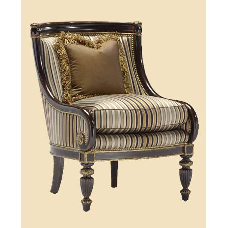 Marge carson ion41 ionia lounge chair discount furniture for Carson chaise lounge