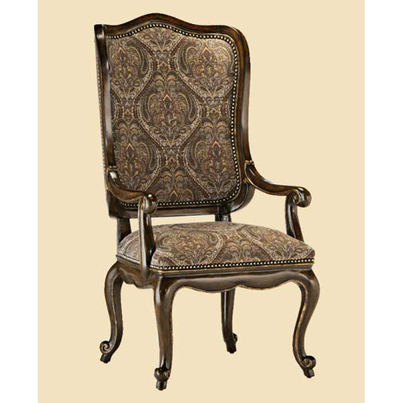 Marge Carson Rvl46 Rivoli Arm Chair Discount Furniture At Hickory Park Furniture Galleries
