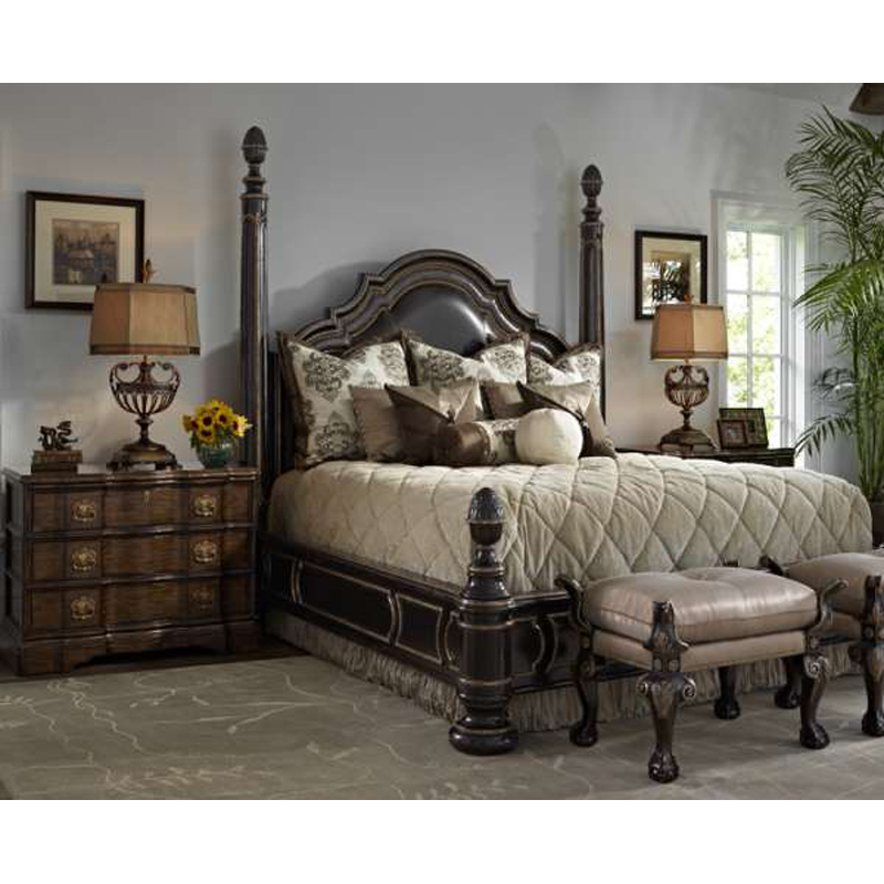 Marge Carson Rs1280 Rivoli Bedroom Discount Furniture At Hickory Park Furniture Galleries