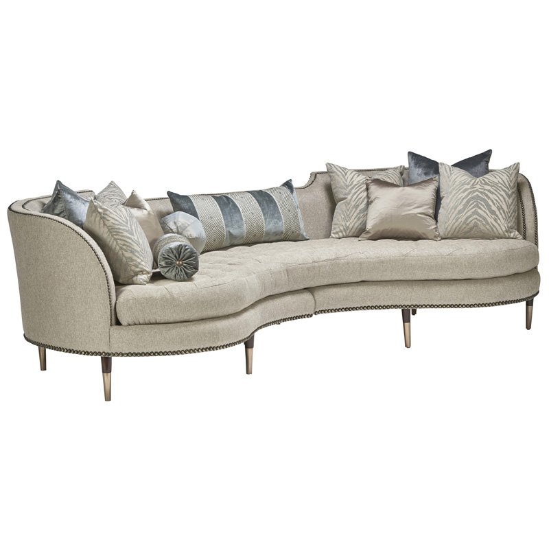 Marge Carson Leather And Upholstery Sofa Amp Loveseat