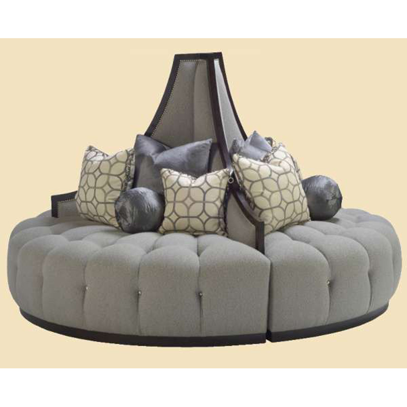 Marge Carson Mge58 Mirage Round Sofa Discount Furniture At