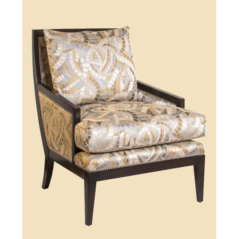 Marge Carson Nol41 Nolan Chair Discount Furniture At Hickory Park Furniture Galleries