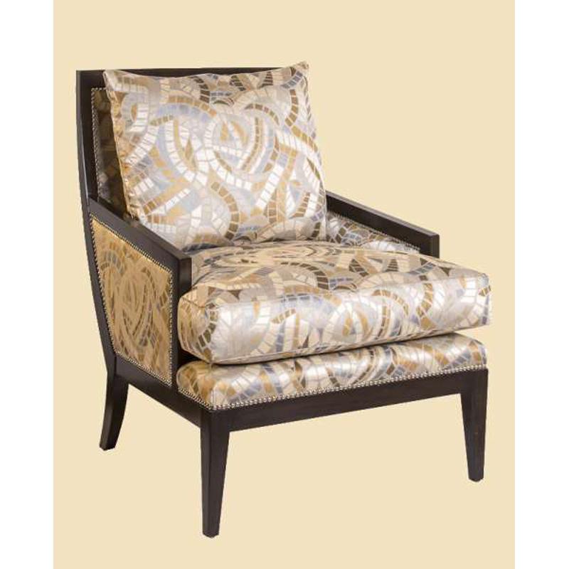 Marge Carson NOL41 Nolan Chair Discount Furniture At