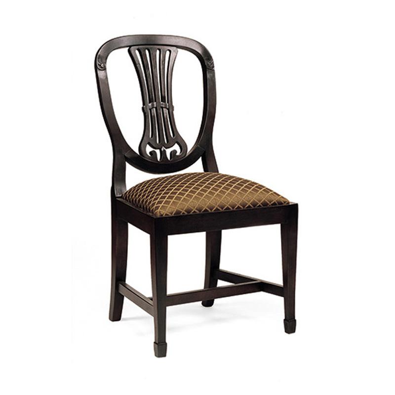 Old biscayne designs trafalgar dining collection side for Park chair design