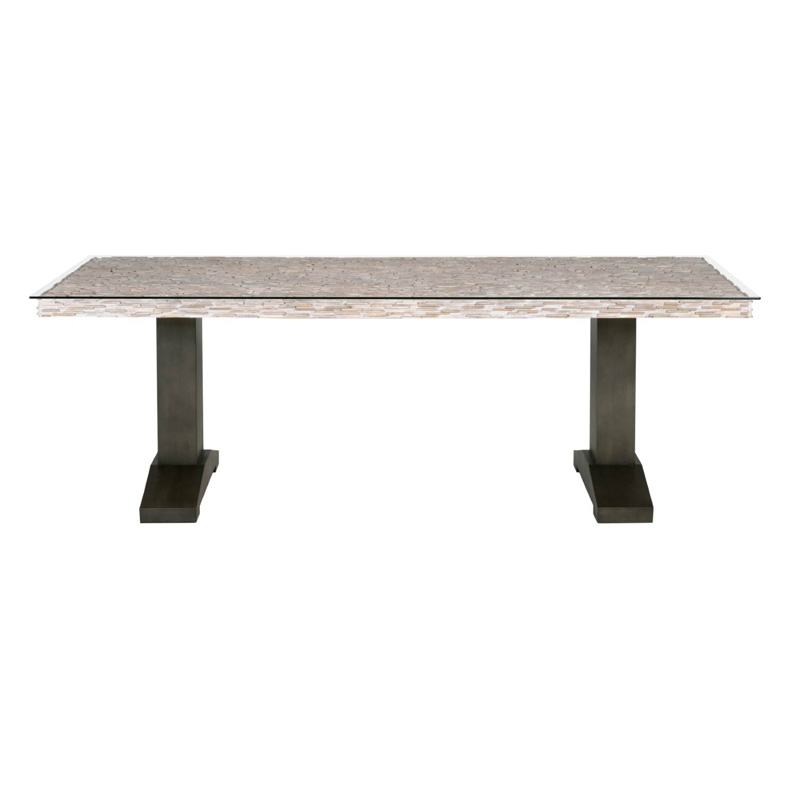 Orient express 7725 magnolia field dining table discount for Magnolia dining table