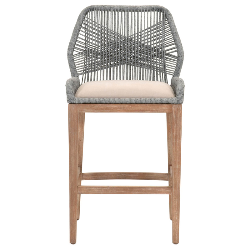 Orient Express 6808bs New Wicker Loom Barstool Discount