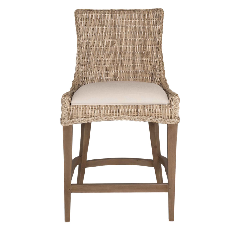Orient Express 6814cs New Wicker Greco Counter Stool
