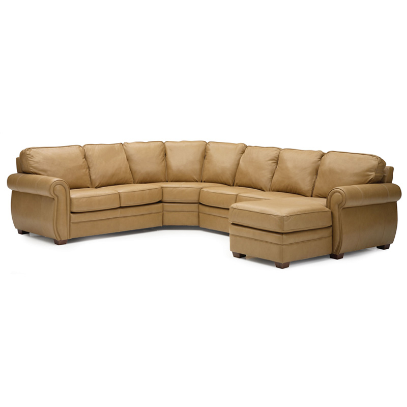 Palliser Leather Sofas: Palliser 77492 Sectional Viceroy Sectional Discount