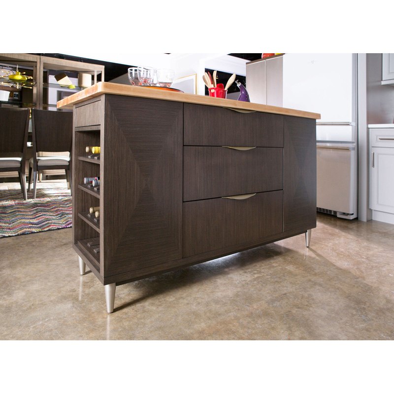 Rachael Ray Home 6020-190K Soho Complete Kitchen Island