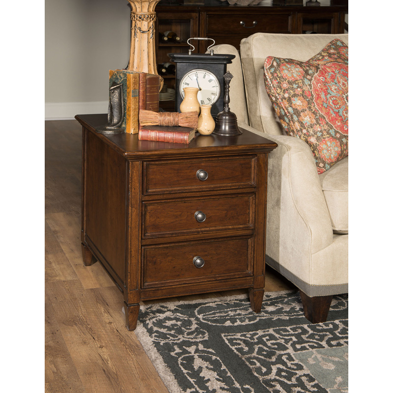 Rachael ray home 6040 507 upstate end table discount for Rachael ray furniture collection