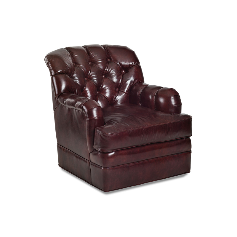 Randall Allan 1103 S Hudson Swivel Chair Discount Furniture At Hickory Park Furniture Galleries