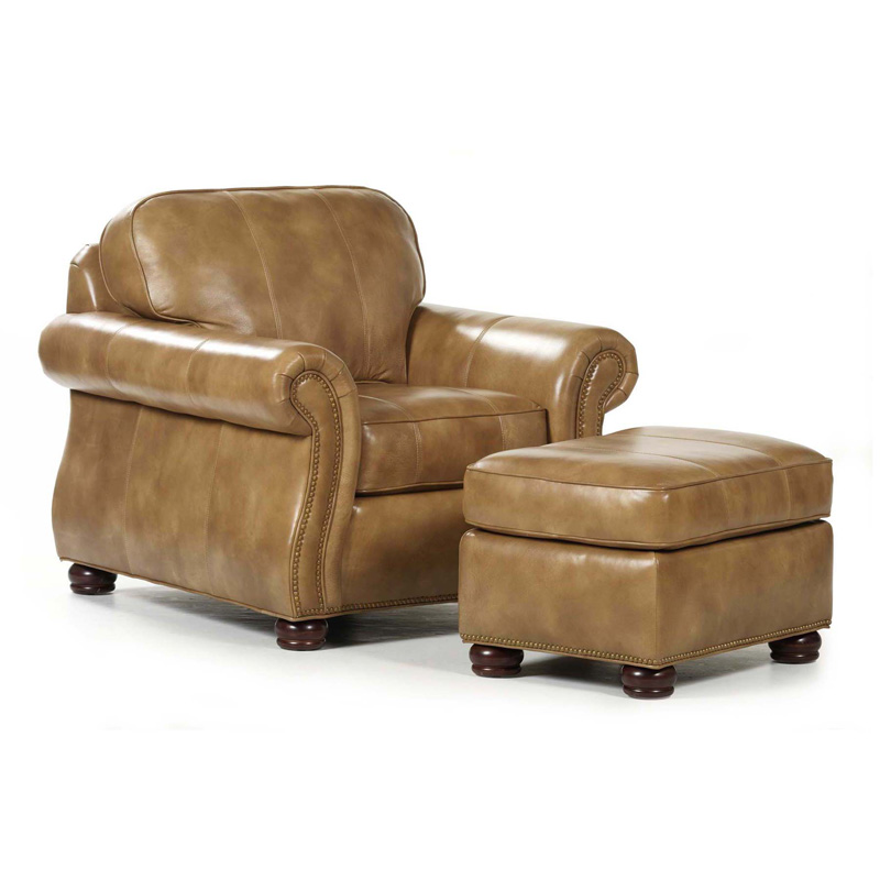 Randall Allan 179 Barrington Chair And Ottoman Discount Furniture At Hickory Park Furniture