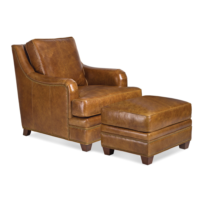 Randall Allan 1185 1 Reynolds Chair And Ottoman Discount Furniture At Hickory Park Furniture