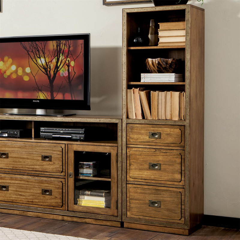 Riverside Falls Creek Pier Unit Discount Furniture