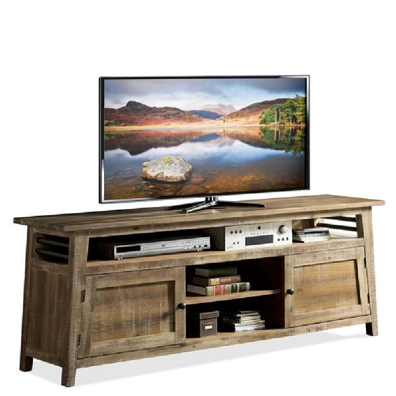 Discount Furniture Store Package 76: Riverside 12345 Rowan 76 Inch TV Console Discount