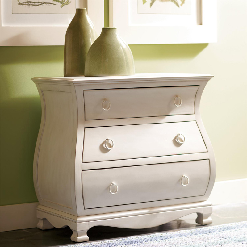Riverside 16767 Placid Cove Bombe Nightstand Discount