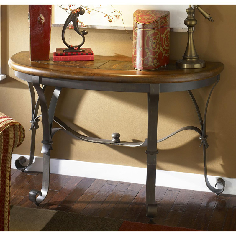 riverside 31015 stone forge sofa table discount furniture at hickory