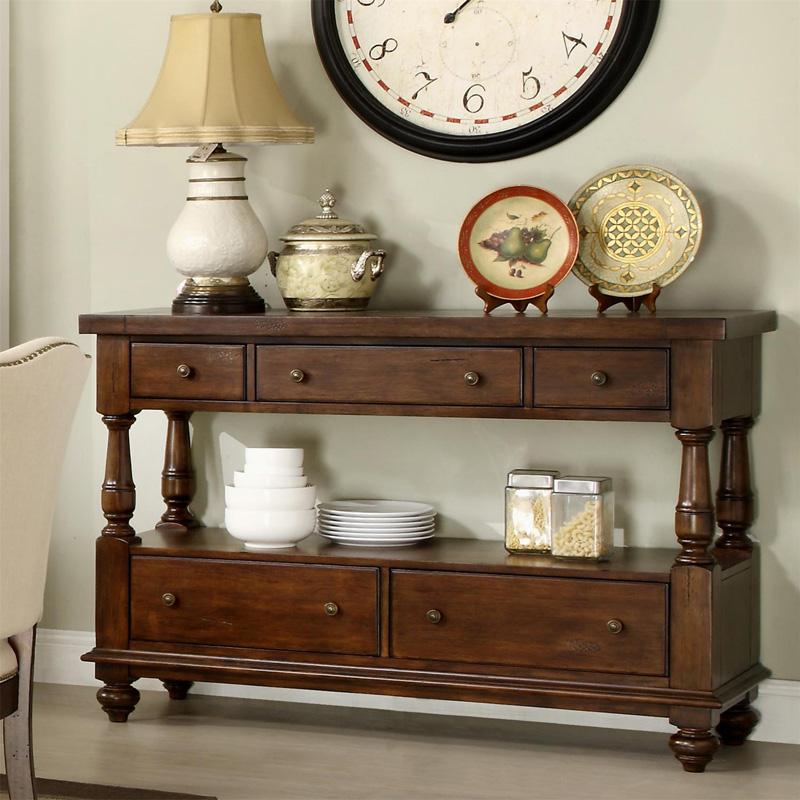 Union Park Dining Room: Riverside 37456 Newburgh Server Discount Furniture At
