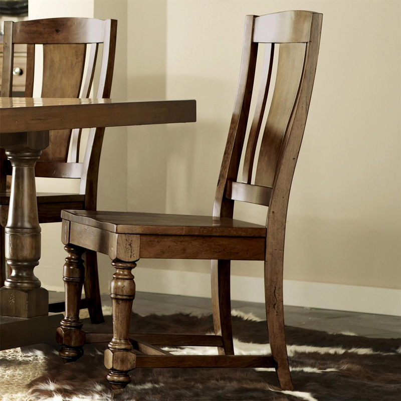 Cheap Furniture Delivered: Riverside 37457 Newburgh Side Chair Discount Furniture At