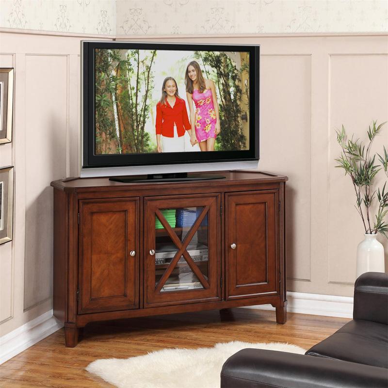 Riverside 43847 Inglewood Corner Tv Console Discount Furniture At Hickory Park Furniture Galleries