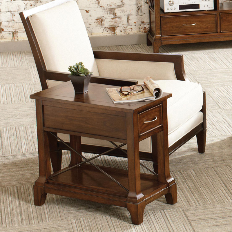 Riverside Lawrenceville Chairside Table Discount