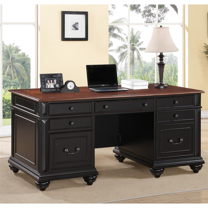 Riverside Home Office Executive Desk 44732: Riverside 65730 Richland Executive Desk Discount Furniture