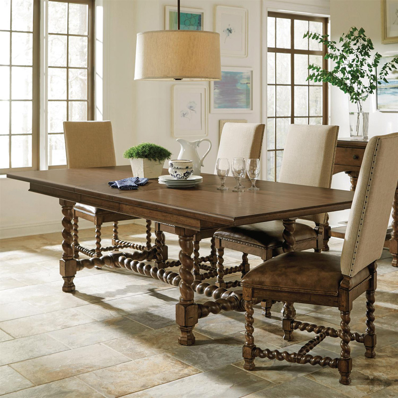 Riverside Pembroke Rectangle Dining Table Discount