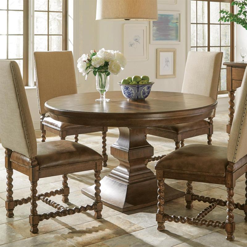 riverside 17151 pembroke round dining table discount furniture at