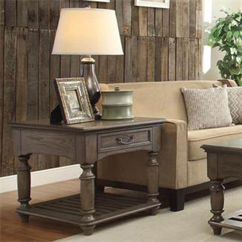 Riverside 15809 Belmeade Rectangular End Table Discount Furniture At Hickory Park Furniture