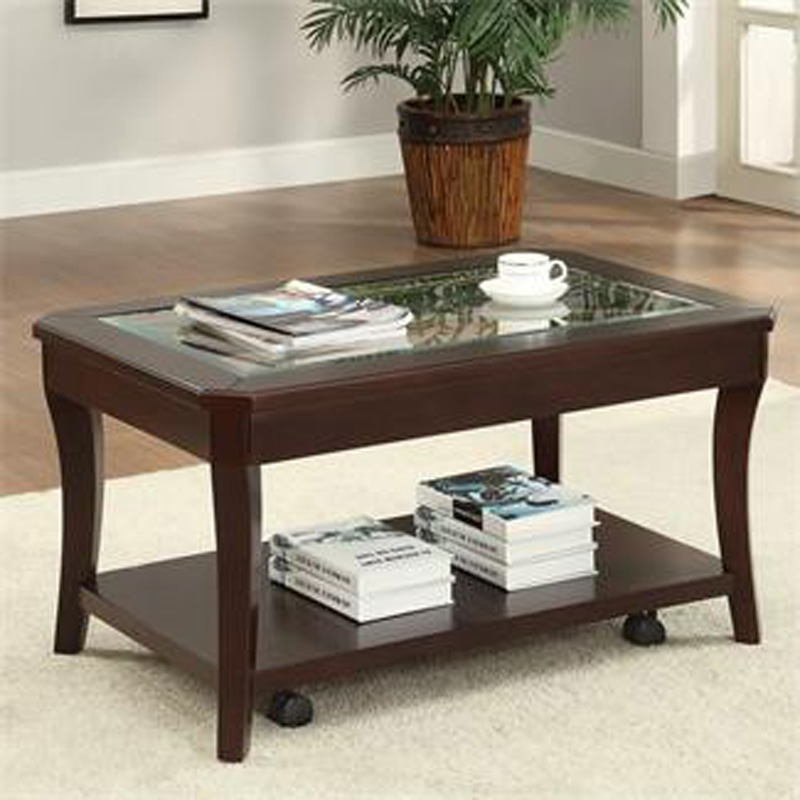 Riverside 81703 bancroft coffee table with casters discount furniture at hickory park furniture Coffee tables with casters