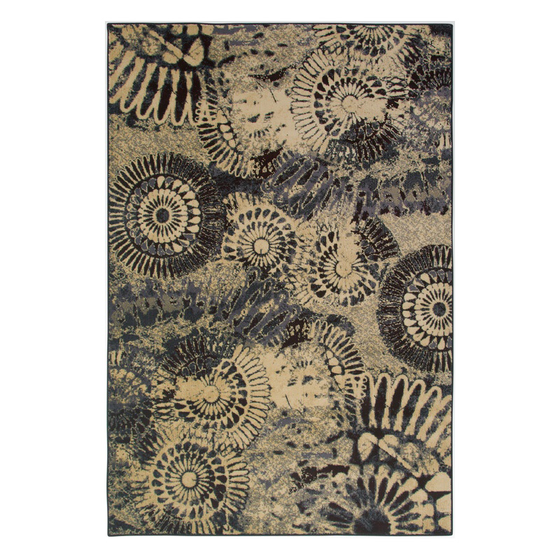 Rizzy home so3432 sorrento plum rug discount furniture at for Plum and cream rug