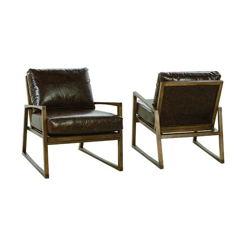 Rowe N930 L 006 Beckett Leather Chair Discount Furniture