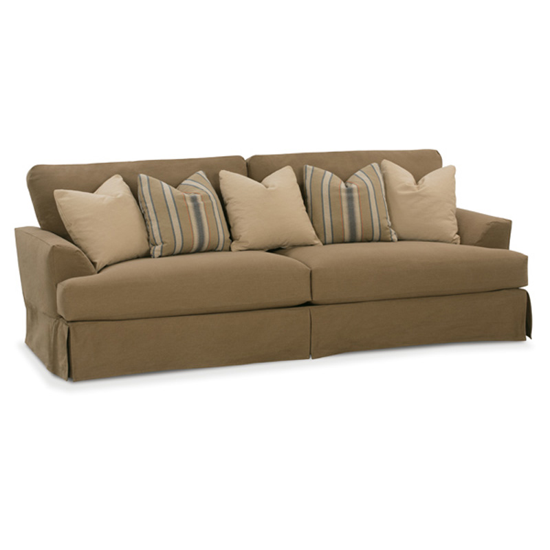 Rowe N680 003 Rowe Slipcovered Sofa Ellington Slipcover Sofa Discount Furniture At Hickory Park