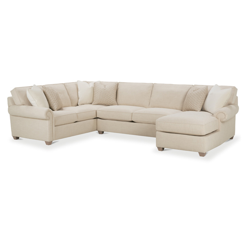 Rowe N700 041 Rowe Sectional Morgan Sectional Discount Furniture At Hickory Park Furniture Galleries