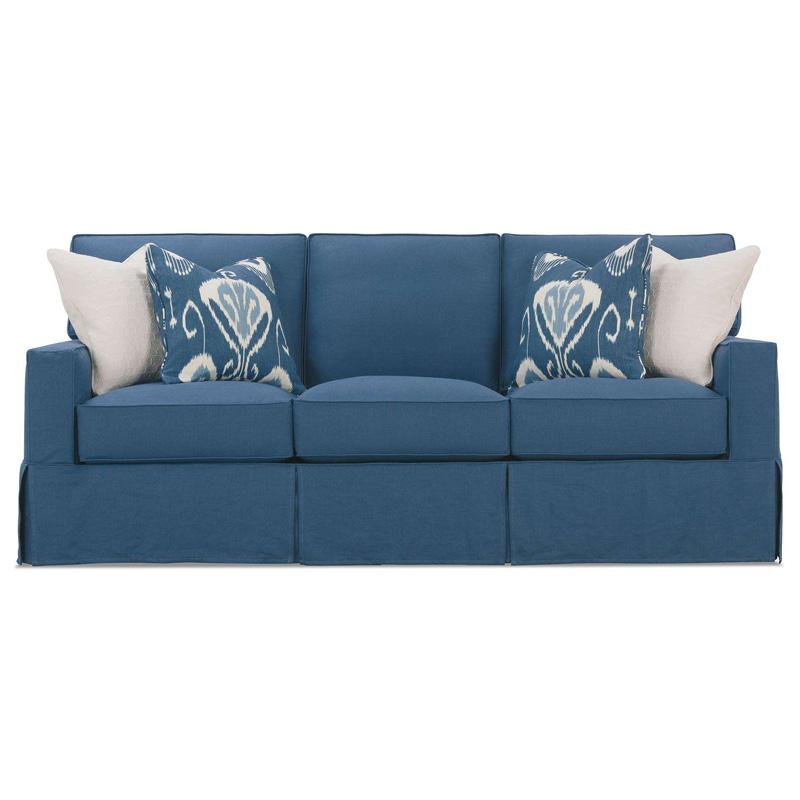 Rowe P278 003 Easton Track Arm Sofa Discount Furniture At