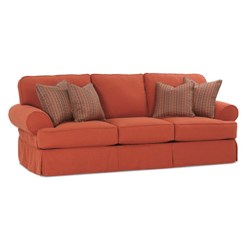 Rowe 7860k Rowe Slipcovered Sofa Addison Sofa Discount Furniture At Hickory Park Furniture Galleries