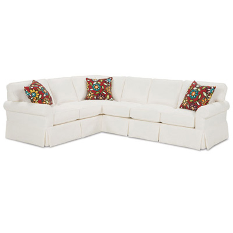 Rowe 7880 Sectional Rowe Sectional Hermitage Sectional Discount Furniture At Hickory Park