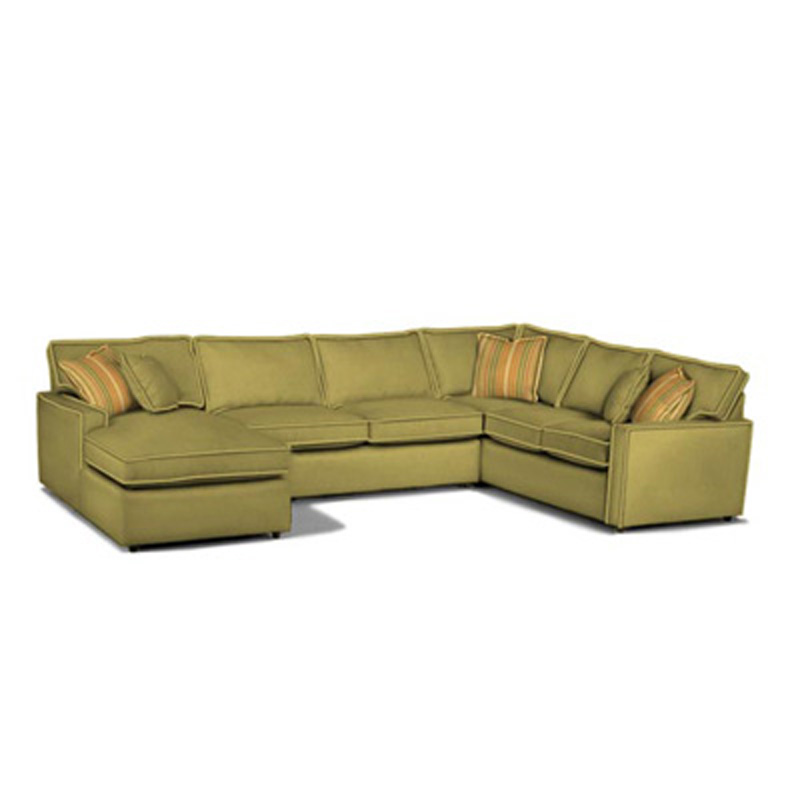 Rowe D188 Rowe Sectional Monaco Sectional Discount Furniture At Hickory Park Furniture Galleries