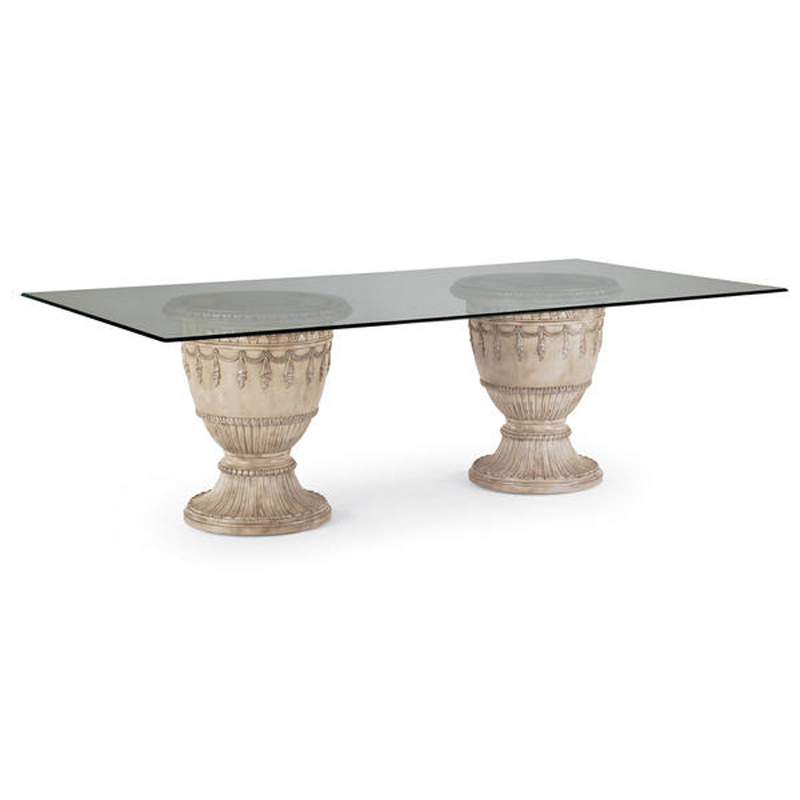 Double Pedestal Dining Table Empire II 3062 935 Schnadig International