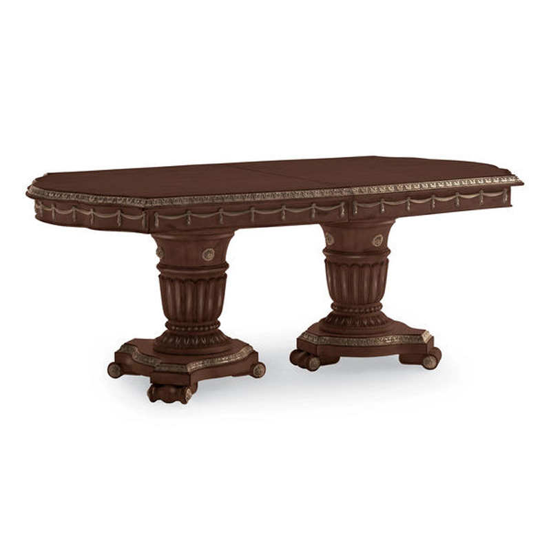 Schnadig Dining Table Dining Table 8552 910 Cobblestone