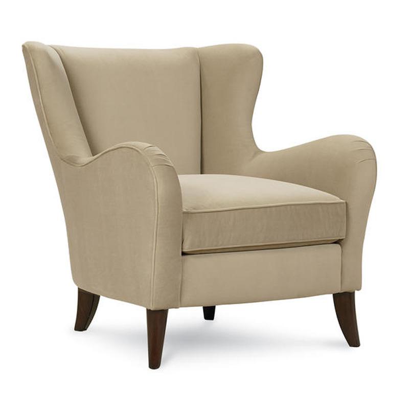 Schnadig International Upholstered Chair Abby Sale