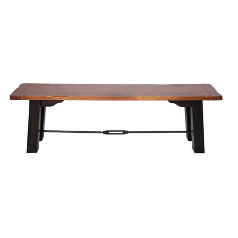 Still Fork 11146002 Backless Benches Homestead 60 Inch Trestle Backless Bench Discount Furniture