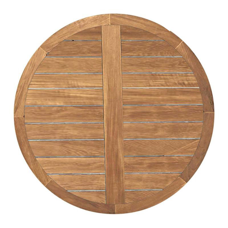 Summer classics 2849 club teak 48 inch round table top for Round teak table top