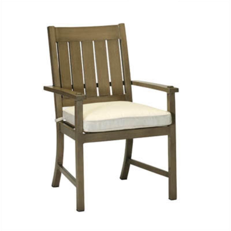 Summer Classics 3330 Croquet Aluminum Arm Chair Discount Furniture At Hickory Park Furniture