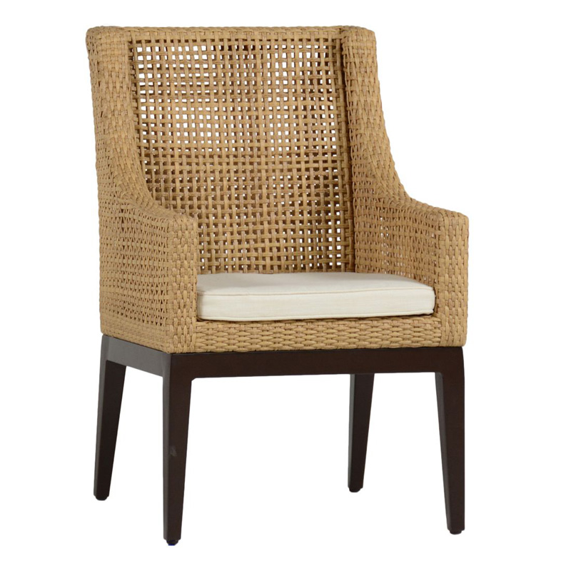 Summer Classics 4230 Finish Peninsula Arm Chair Discount Furniture At Hickory Park Furniture