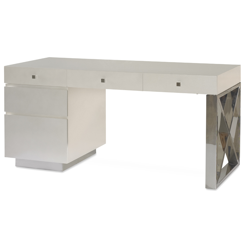 Swaim 746 20 W PSS FD Home fice Desk Discount Furniture