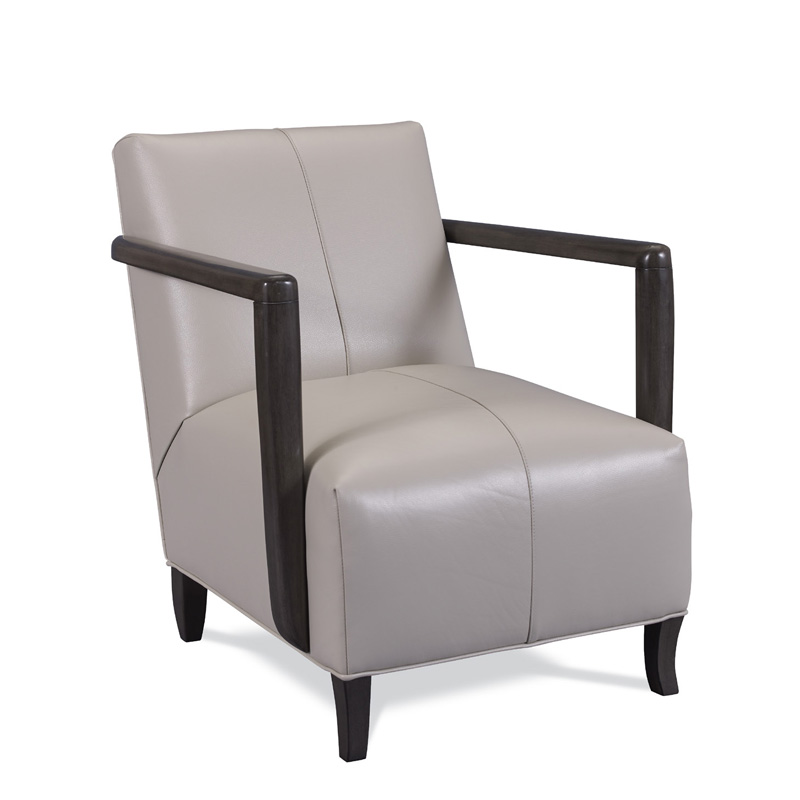 Swaim KF5108 L C26 Lola Leather Chair Discount Furniture