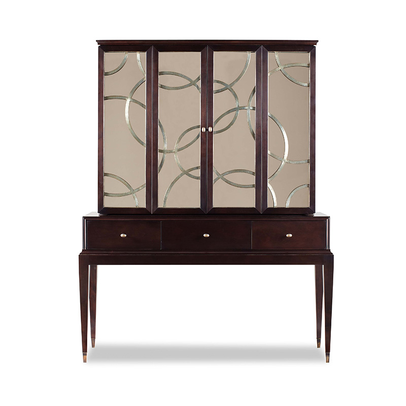 Swaim 758 55 Swaim Living Room Cabinet Discount Furniture